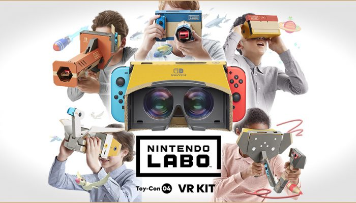 NoA: 'Enter the family-friendly world of Nintendo Labo: VR Kit, now available'