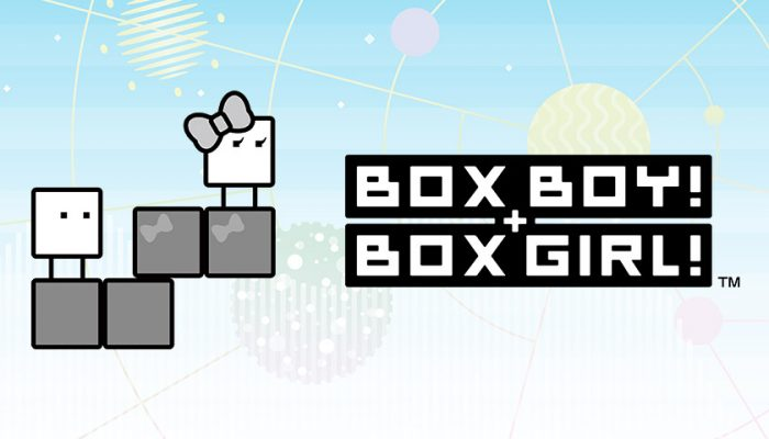 NoA: 'BoxBoy! + BoxGirl! Free Demo! Trailer! Nintendo Switch!'