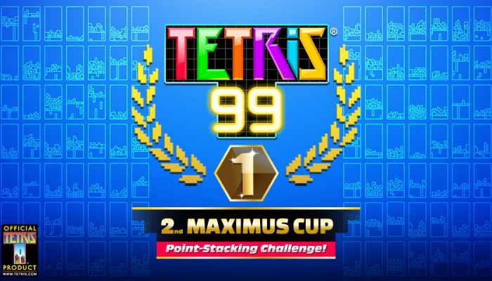 NoA: 'Show off your skills in the Tetris 99 2nd Maximus Cup!'