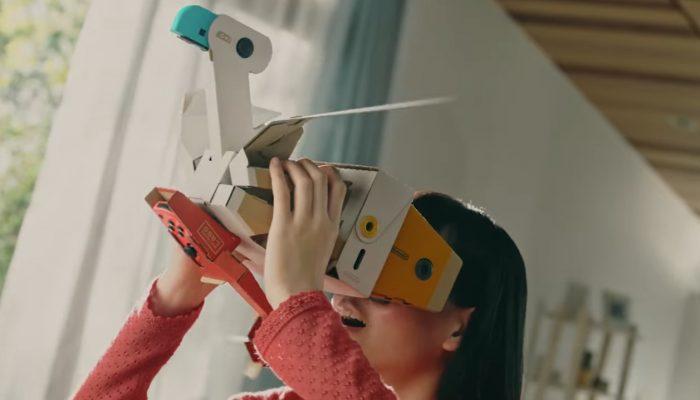 Nintendo Labo – Kit VR : Publicité Rentre au cœur du jeu !