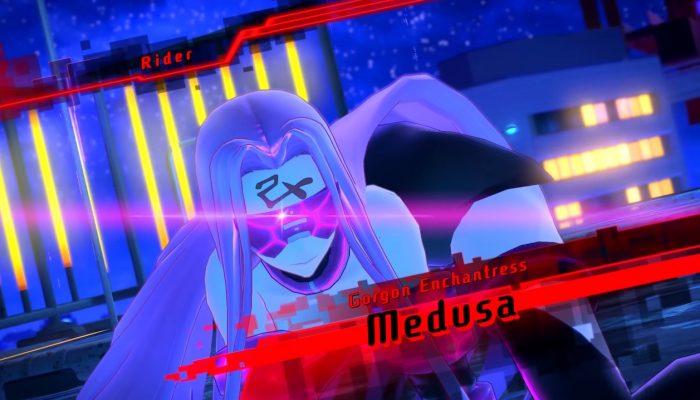 Fate/Extella Link – Cu Chulainn, Medusa, Artoria and More Character Trailers