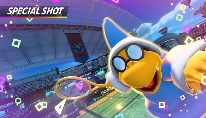 Mario Tennis Aces – Kamek Showcase