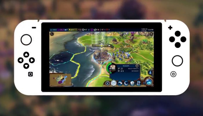 Civilization VI now with cross-platform cloud saves on Steam and Nintendo Switch