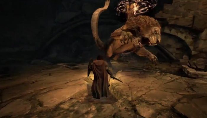 Check out the Chimera in Dragon's Dogma Dark Arisen