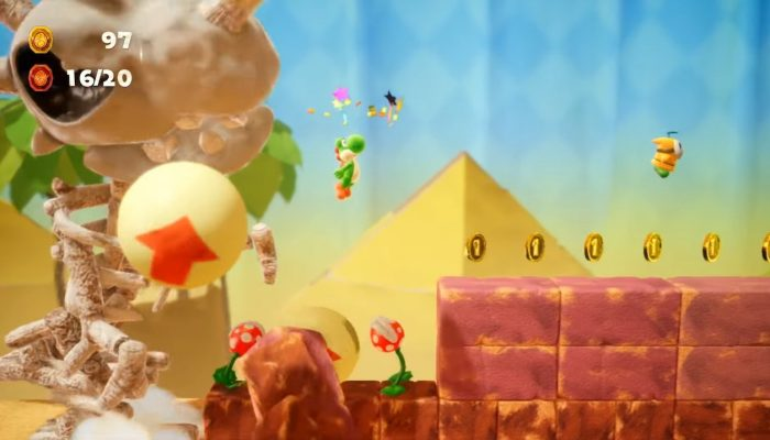 Yoshi's Crafted World – Overview Trailer