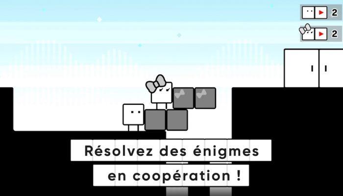 BoxBoy! + BoxGirl! – Les bases du jeu !