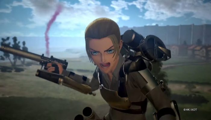 Attack on Titan 2: Final Battle – Anti Personnel ODM Gun Action Footage
