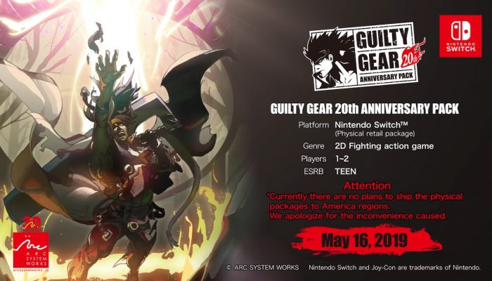 Guilty Gear 20th Anniversary Pack – Announcement Trailer
