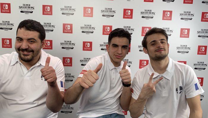 Leon, Ogey et Glutonny remportent la finale du Championnat European Smash Ball Team Cup France 2019