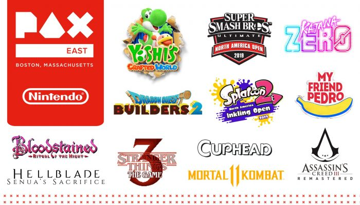 Here's the updated list of games Nintendo brought to PAX East 2019