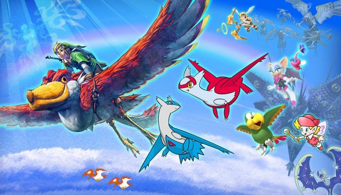 """""""Kings & Queens of the Sky"""" Spirit Event in Super Smash Bros. Ultimate"""