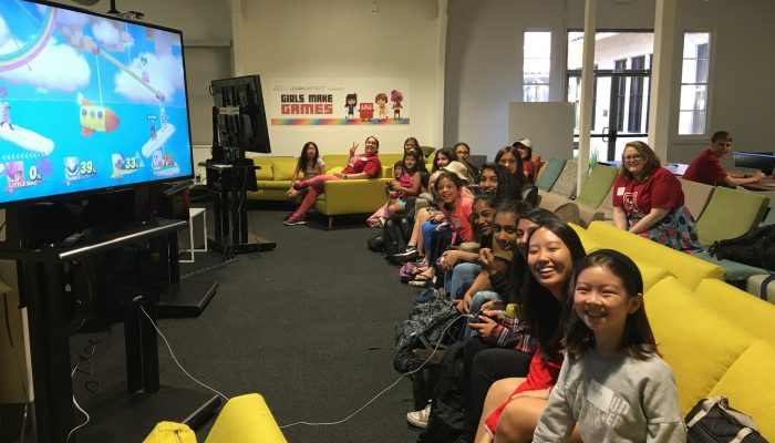 The newest Girls Make Games summer camp will held at Nintendo of America's headquarters