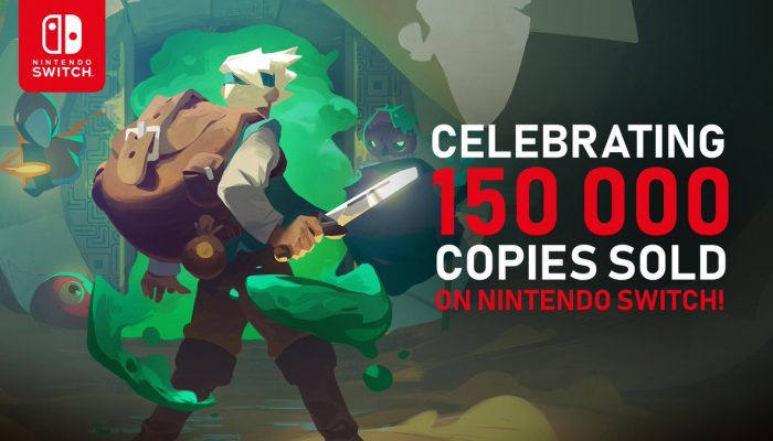 Moonlighter celebrates 150,000 copies sold on Nintendo Switch