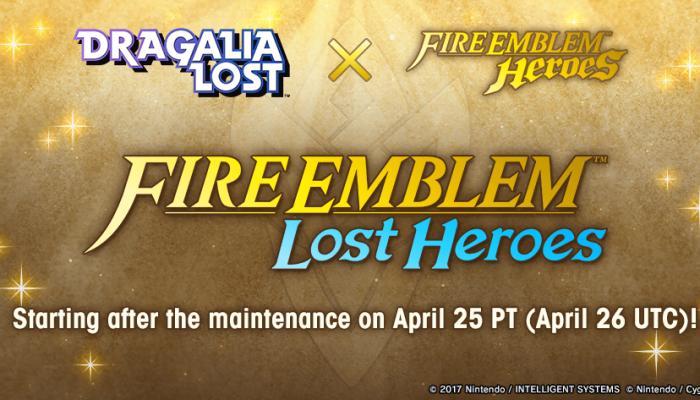 Dragalia Lost's Fire Emblem Heroes event begins on April 25