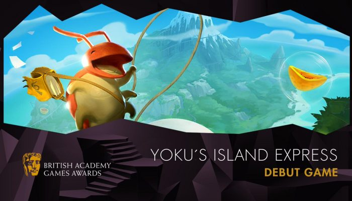 Yoku's Island Express wins BAFTA Games 2019 Debut Game award