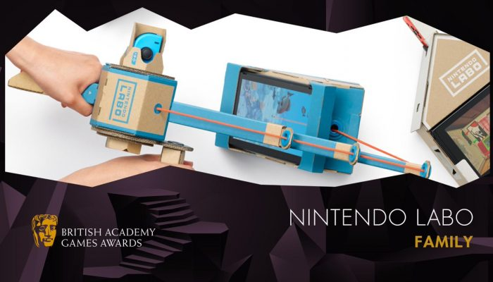 Nintendo Labo wins BAFTA Games 2019 Family award