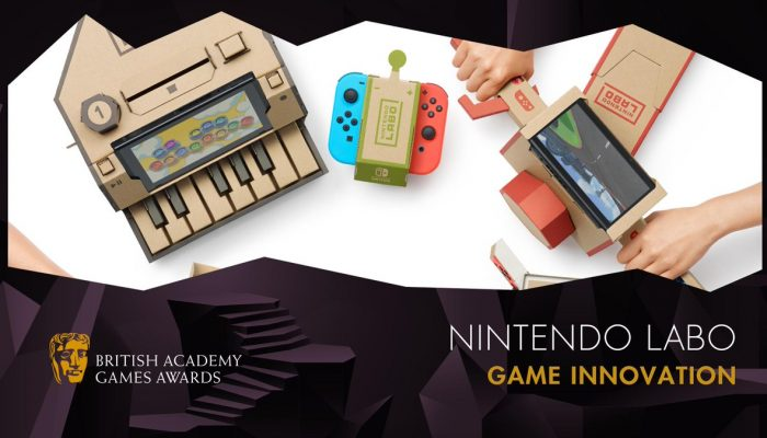 Nintendo Labo also wins BAFTA Games 2019 Game Innovation award
