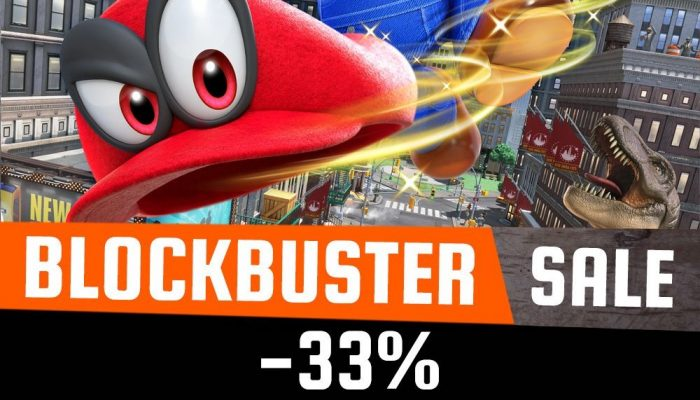 Super Mario Odyssey now 33% off in Europe until April 25