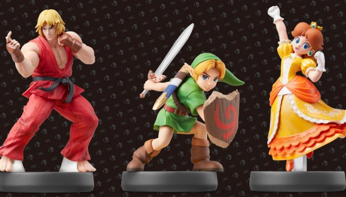 Ken, Young Link and Daisy Smash Bros. amiibo are available now
