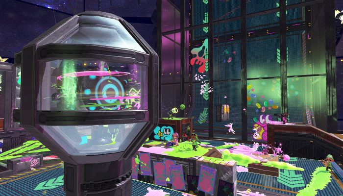 This is the Shifty Station for the Splatoon 2 SpringFest