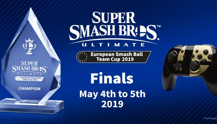 Here are the grand prizes for the Super Smash Bros. Ultimate European Smash Ball Team Cup 2019 winners