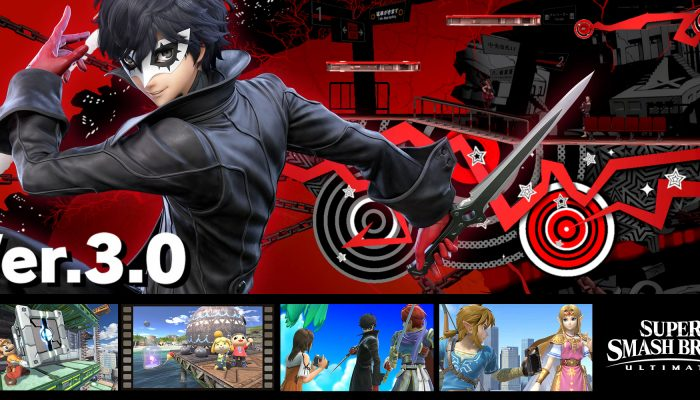 NoE: 'Persona 5's Joker joins the battle in Super Smash Bros. Ultimate on April 18th!'