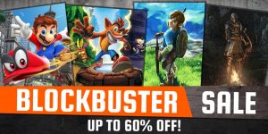 Nintendo eShop Downloads Europe Blockbuster Sale