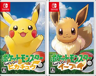 Nintendo FY3/2019 Pokémon Let's Go Pikachu Pokémon Let's Go Eevee