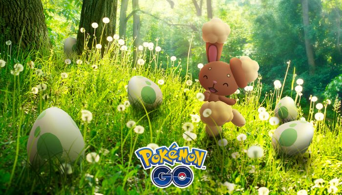 Niantic: 'Hop to the Pokémon Go Eggstravaganza!'