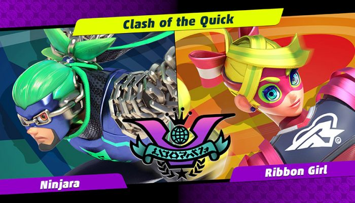NoA: 'The student of stealth meets the pop idol herself. Ninjara and Ribbon Girl clash in the next Party Crash Bash!'