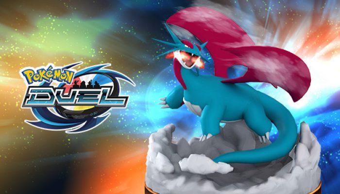 Pokémon: 'Pokémon Duel Heats Up with [EX] Salamence'