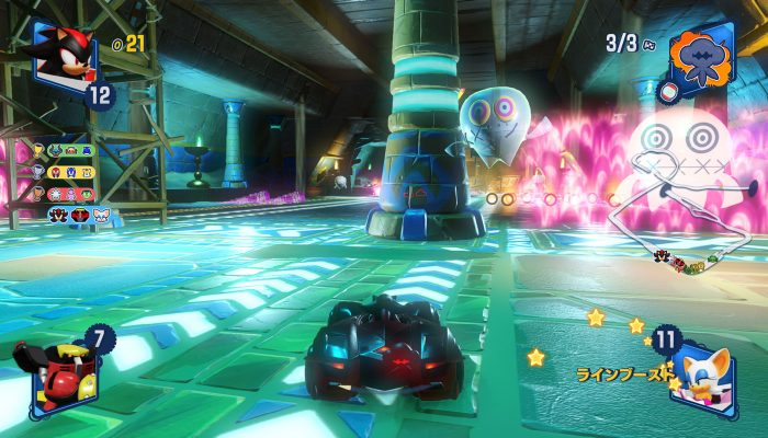 Team Sonic Racing – Japanese Boo's House, Ring Challenge and More Screenshots