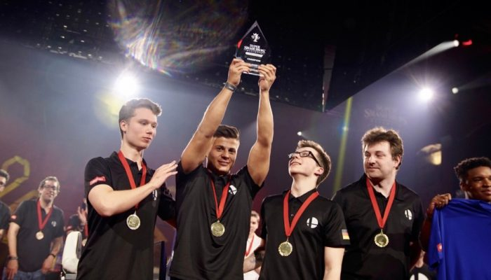 Nintendo UK: 'Germany defeat France in a thrilling final to become Super Smash Bros. Ultimate European Smash Ball Team Cup 2019 Champions'
