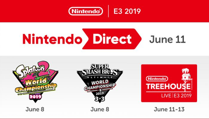 NoA: 'Nintendo's plans for E3 2019 include Nintendo Direct, competitions, Nintendo Treehouse: Live'