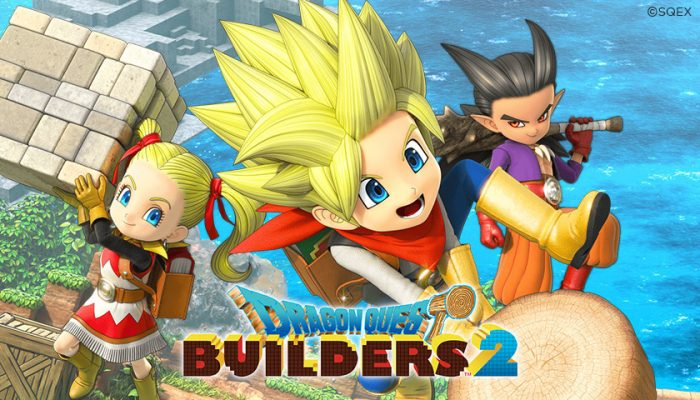 NoA: 'Dragon Quest Builders 2 digital pre-purchase starts today; DLC coming soon'
