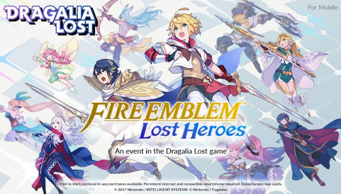 NoA: 'Heroes from another world are thrust into the world of the Dragalia Lost game!'