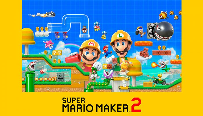 NoA: 'Let's-a Go! Super Mario Maker 2 Launches for Nintendo Switch on June 28'