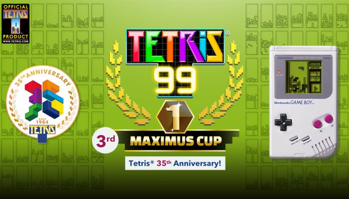 NoA: 'Nintendo announces Tetris 99 Big Block DLC and upcoming 3rd Maximus Cup'