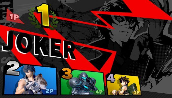 Nintendo France : 'M. Sakurai vous en dit plus sur Joker de Persona 5 et son arrivée dans Super Smash Bros. Ultimate !'