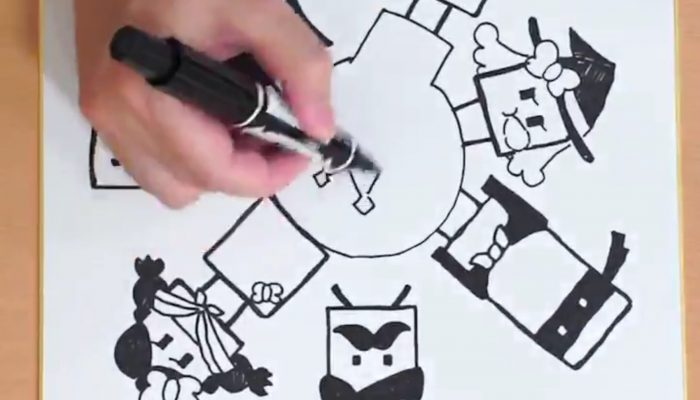 BoxBoy! + BoxGirl! developers draw for the launch of the game