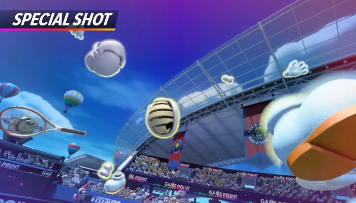 Mario Tennis Aces – Dry Bones Showcase