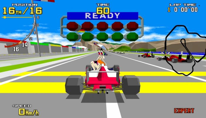 SEGA Ages – Japanese Virtua Racing Overview Trailer