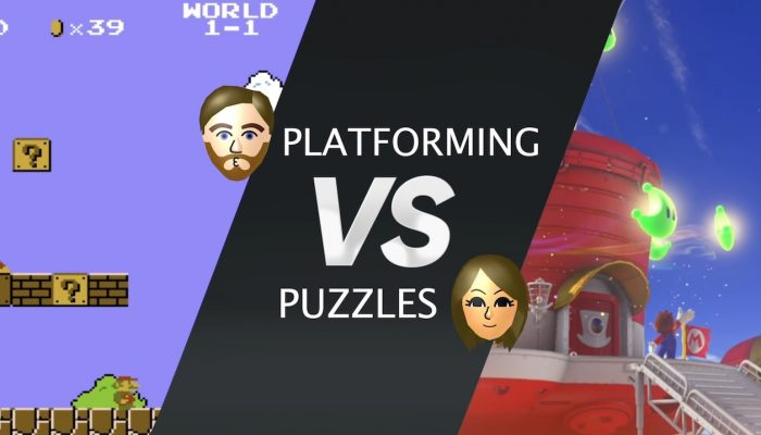 Nintendo Minute – Debate! Platforming vs. Puzzle Courses in Mario Games