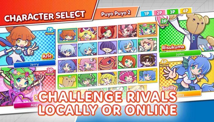Puyo Puyo Champions – Launch Trailer