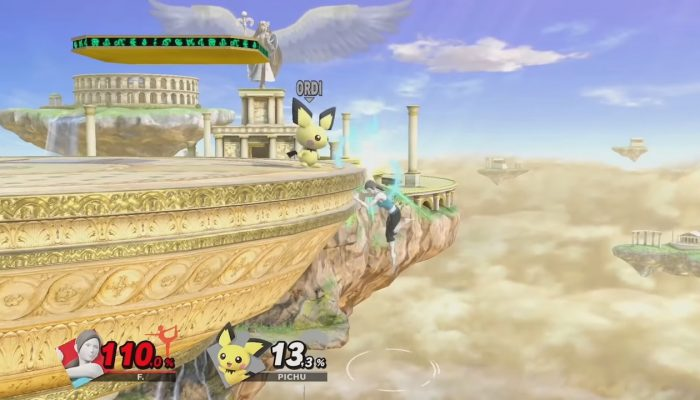 Super Smash Bros. Ultimate – Let's Smash Épisode 17 : Options depuis le rebord