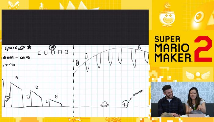 Nintendo Minute – Sketching Our Super Mario Maker 2 Levels
