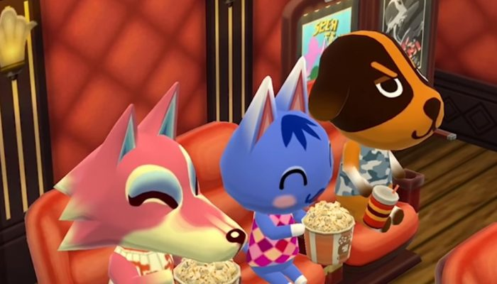 Animal Crossing: Pocket Camp – Apollo's Cinema Cookie