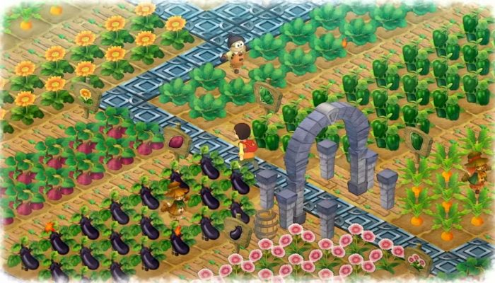 Doraemon Story of Seasons – Japanese Crop System Overview
