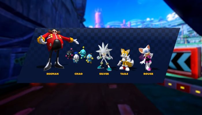 Team Sonic Racing – Character Types Spotlight