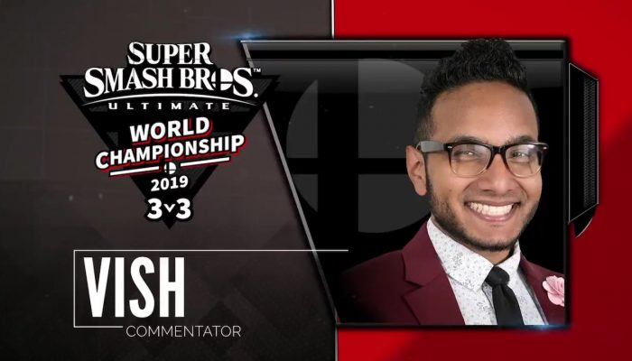 Here are the commentators for the Super Smash Bros. Ultimate World Championship 2019